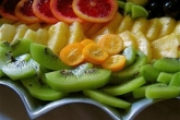 Fruit tray from Trout River Catering