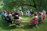 Liz Rog - Ceremony at Fern Hollow Cabin